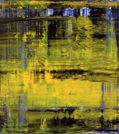 Abstract Picture, Oil On Canvas by Gerhard Richter