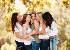 Freundinnen-Fotoshooting