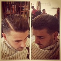 Scumbag Boogie, I learned this haircut today.