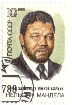 sello postal, 1988