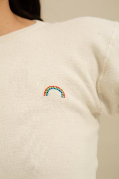 One of a Kind—Rainbow Thermal Tee