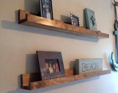 Handmade Floating Wall Shelves