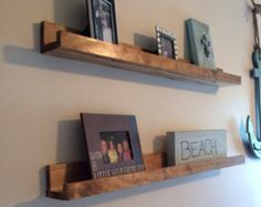 Handmade Floating Wall Shelves