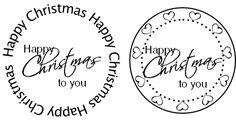 Happy Xmas circles