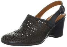 Gentle Souls Women's Open Ridge Slingback Sandal ** Additional details at the pin image, click it  : Closed toe sandals