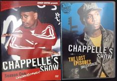 Two DVDs Chappelle's show The Lost Episodes Unsensored contains one disc The second is Chappelle's Show Season 1 Unsensored with two discs Both have been opened Not a scratch or scuff on any of the 3 CDs Please email me for more information Thanks Please visit our store at Lovely October Sky | eBay!