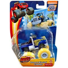 Fisher-Price Nickelodeon Blaze and the Monster Machines Crusher Truck, Multicolor