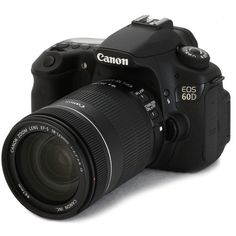 Manual da Câmera Digital Canon EOS 60D ❤ liked on Polyvore featuring camera, accessories, electronics, fillers and other