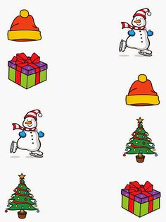 Pro Štípu: Období ZIMA Fun Worksheets For Kids, Art Activities For Toddlers, Christmas Worksheets, Christmas Activities For Kids, Preschool Learning Activities, Winter Crafts For Kids, Preschool Christmas, Toddler Christmas, Preschool Worksheets