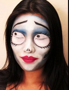 Makeup - corpse bride emily costume - Google Search | Halloween ...