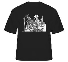 Stewart Copeland The Police Drummer Black T Shirt Black And White Tees, Sport T Shirt, Police, Mens Tops, Shirts, Stuff To Buy, Style, Fashion, Swag