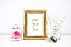 Custom Text in Gold Foil Script by TroublemakrEshop on Etsy