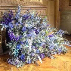 Delphinium Explosion #regram @hamishbowles #flowers #flores #vanessaseward #paris #delphinium #pursuepretty