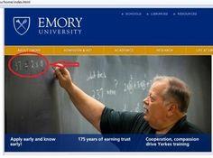Higher Education - Emory University Website
