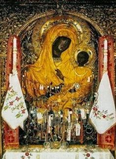Early Christian, Christian Art, Madonna, Orthodox Catholic, Fervent Prayer, The Holy Mountain, Jesus Pictures, Blessed Virgin Mary, I Icon