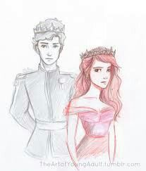 Red Queen. Mare barrow. Credits to original artist, this fits perfectly