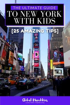 I was a little apprehensive about traveling to New York with kids. Quickly, I realized this is one of my favorite cities and we have returned numerous time. There is an endless amount of things to do in NYC with kids, amazing places to stay, and incredible food. New York City should be on every family's bucket list! Read on to plan your trip to New York with kids today using our Ultimate Guide to New York with Kids. #traveltips #familyvacationideas #newyorkwithkids #newyork #nyc Cruise Excursions, Cruise Destinations, Cruise Travel, Travel Usa, Cruise Tips, Travel Tips, Toddler Travel, Travel With Kids, Family Travel