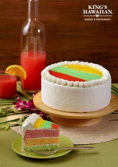 king s hawaiian wedding cake guava mango and fruit paradise cake from king s 16644