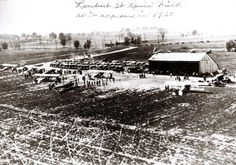 This Day in St. Louis History: March 20, 1922 Lambert Airport gets its name  The St. Louis Aero Club voted that its new Bridgeton airport would be named after Albert Bond Lambert. He used his own money to upgrade the landing strips and build hangars, and promoted aviation as the future for St. Louis.He would sell it to the city for the same price he bought it at.The sale made Lambert Airport the first municipally owned airfield in the U.S.