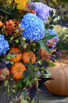 """""""Home is Where the Boat is"""" - Fall Arrangement - Beautiful!!"""