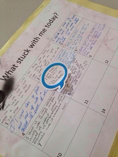 Learning log. Works great for students to reflect on learning, keeping record. Learning diary.