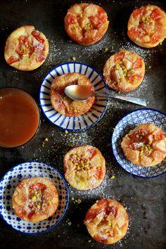 Clafoutis aux pommes et abricots