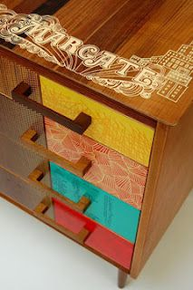100percentdelicate: Upcycled Furniture