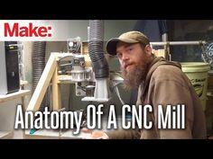 Anatomy of a CNC mill