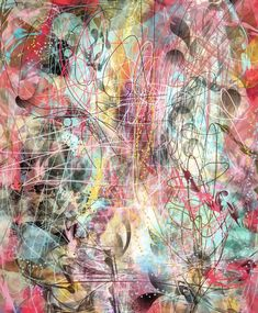 Abstract art by Jill Marie Greenhill