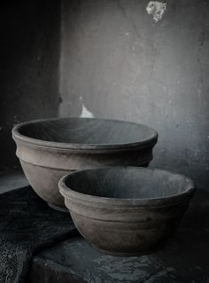 Originally for the Japanese aesthetic wabi-sabi. Explore tags: what is wabi-sabi? Wabi Sabi, Magazine Deco, Gray Aesthetic, French Country House, Country Living, Rustic French, Gray Matters, 50 Shades Of Grey, Wooden Bowls