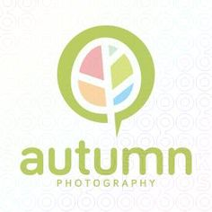 Autumn Photography logo #logo #mark #icon #sale #tree #leaf #colors #spa #nature #natural #decor #wellness #kids
