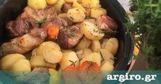 Μαριναρισμένο χοιρινό στη γάστρα με εσπεριδοειδή και πατάτες | Συνταγή | Argiro.gr