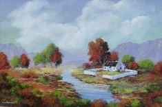 oilo stretched canvas but can be x in RSA: be viewed in Gumtree South Africa, Buy And Sell Cars, Painting Videos, Travel And Tourism, Beautiful Paintings, Landscape Art, Homesteading, Photo S, Canvas