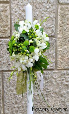Flowers Garden, passion for colours: Lumanari botez