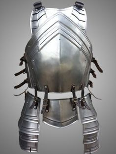 LARP Steel Armor - The Dwarven Cuirass-Chest-Back – handcrafted – custom made