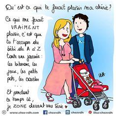 Illustrations sur la grossesse et la maternité www.chez-vdh.com