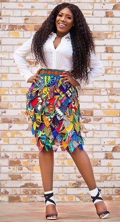 African Print Skirt, African Print Dresses, African Print Fashion, Africa Fashion, African Dress, Latest African Styles, Trendy Ankara Styles, African Attire, African Wear