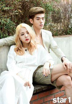 BM and Jiwoo