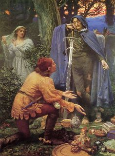 """Edward Robert Hughes (1832-1908), """"Bertuccio's Bride"""", 1895 by sofi01, via Flickr"""