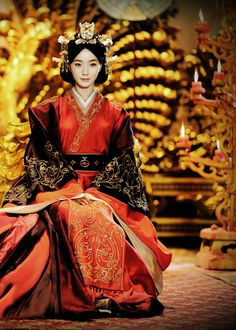 Wang Luodan in 'The Virtuous Queen of Han' (2014).