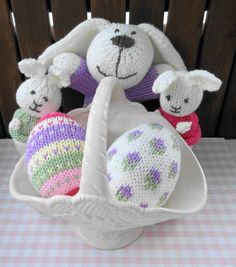 Knit for easter