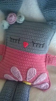 Crochet Elephant Pattern, Crochet Patterns Amigurumi, Baby Knitting Patterns, Crochet Motif, Doll Patterns, Easter Crochet, Crochet Bunny, Crochet Home, Crochet For Kids