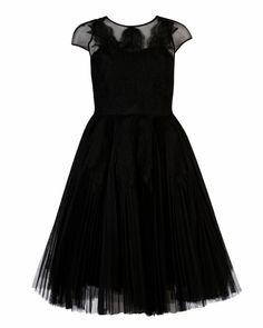 MIYAA - Feather applique motif dress - Black   Womens   Ted Baker UK