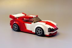 #lego #car #MOC Lego Cars, Lego Plane, Lego Auto, Legos, Lego Sports, Lego Wheels, Amazing Lego Creations, Lego Speed Champions, Lego Worlds