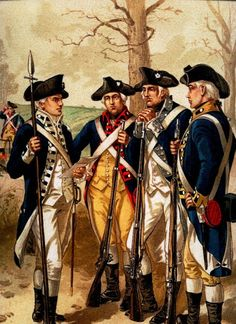 Continental Infantry, 1779-1783 American Revolutionary War, American Civil War, Early American, American History, Independence War, American Independence, Independencia Usa, Continental Army, Lincoln Continental