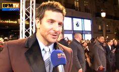 Just Another Interview Of Bradley Cooper Speaking In French - Le swooooon.