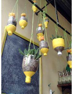 #DIY hanging planters