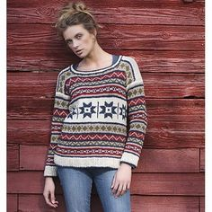 Check out Tahki Yarns Country Quilt Pullover PDF at WEBS | Yarn.com.