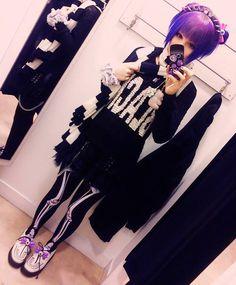 Pastel goth #style #fashion #pastelgoth