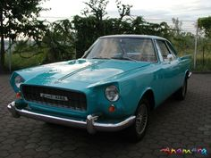 Fiat 2100 Coupe by Vignale
